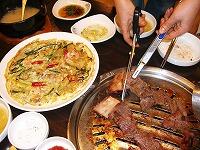 韓国明洞焼肉店