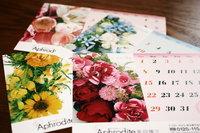 2011年度カレンダー「FLOWER」